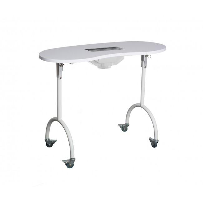 Tavolino Manicure Portatile con Aspiratore - PALMAR