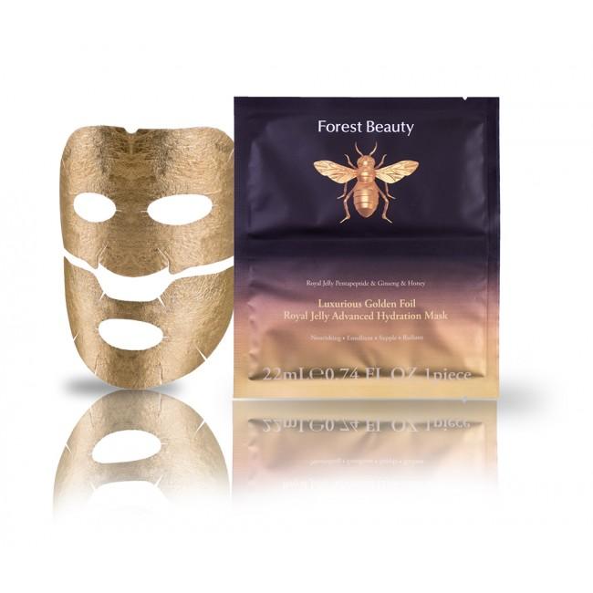 Maschera in Cellulosa BioMaschera in Cellulosa Bio - Effetto liftante con Oro 24K e Collagene