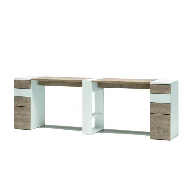 Tavolo - VICTOR doppio tavolo con cassettiere